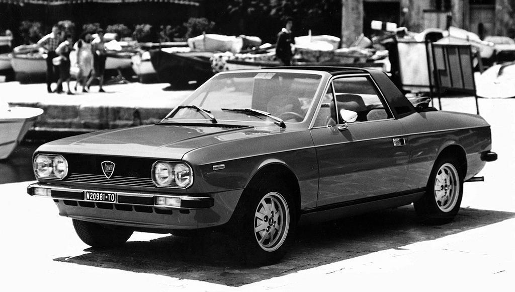 Lancia Beta Spider. 1975 Lancia Beta