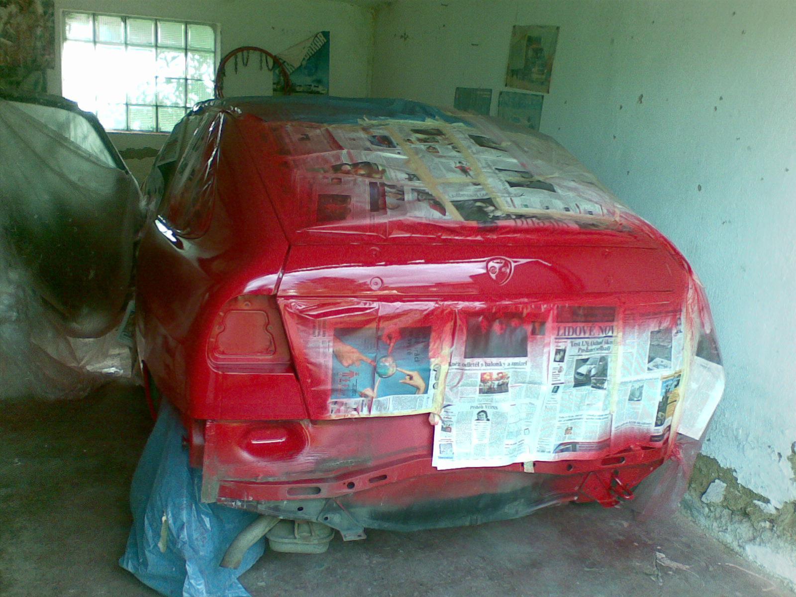 Lakování auta doma